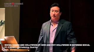 Social Games and Hollywood IP: How and Why Hollywood is Entering Social | Ed ZOBRIST