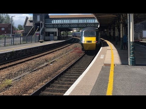 Great Western Railway and CrossCountry Trains at Weston-super-Mare on June 8th 2019