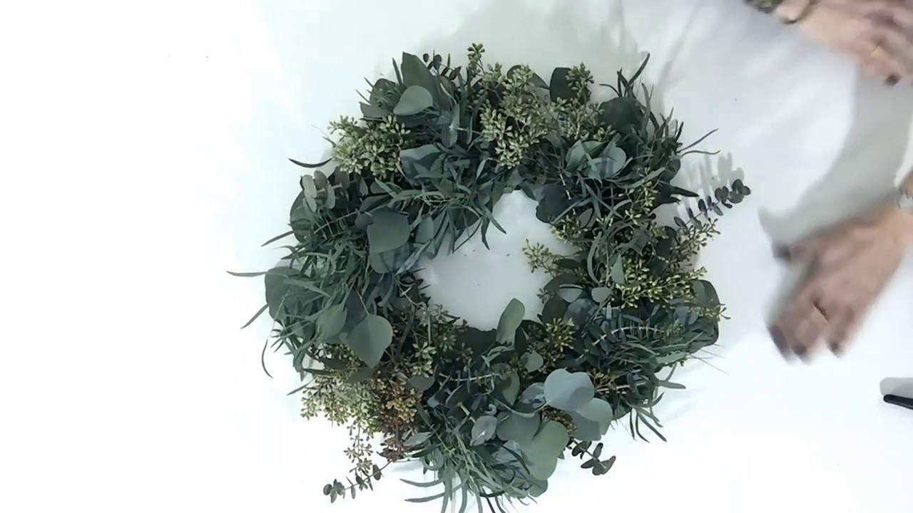 Eucalyptus Wreath Tutorial