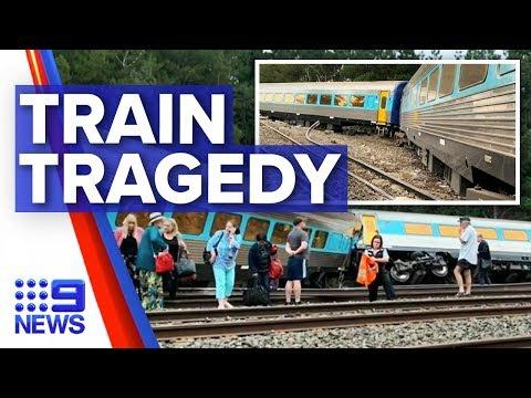 Two Killed In Victoria Train Derailment | Nine News Australia