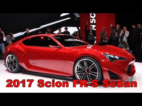 2017 Scion Fr S Sedan Exterior And Interior