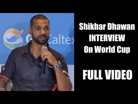 Chit Chat With Shikhar Dhawan On World Cup 2019 | Full Video