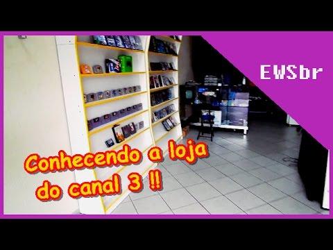 Conhecendo a Loja de games da Canal 3 !!
