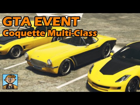 Coquette Multi-Class Endurance Race - GTA Live Racing #48