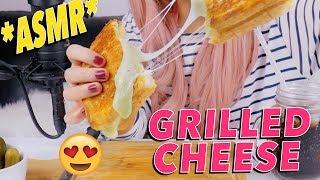 grilled cheese mukbang
