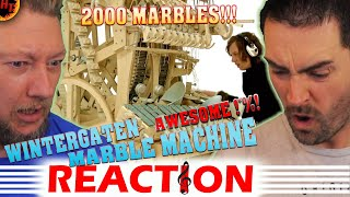 wintergatan - Marble Machine REACTION! (music instrument using 2000 marbles)