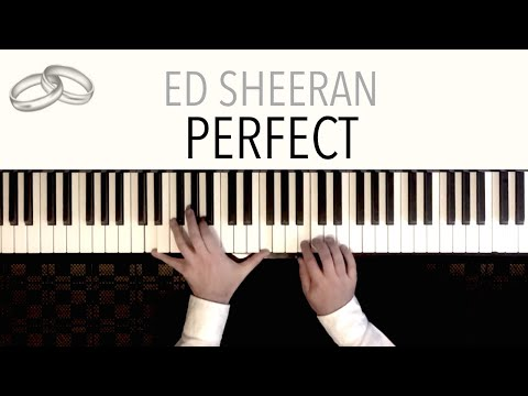 Ed Sheeran - Perfect (Wedding Version) featuring Pachelbel's Canon | Piano Cover