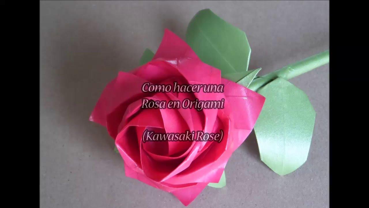 Papercraft Origami Rosa Kawasaki (Bien Explicado)