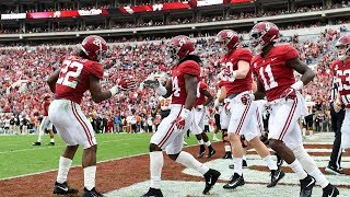 Every Touchdown of the 2017-18 Alabama Crimson Tide Football Regular Season