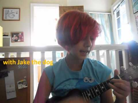 Adventure Time Theme Song Uke Cover Chords And Lyrics In