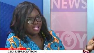 Cedi Depreciation - The Pulse on JoyNews (6-3-19)