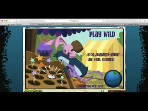 ANIMAL JAM LIVE! (19) SUMMER ROSE NAME REVEAL AT 145 SUBS