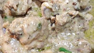 White Chicken Karahi