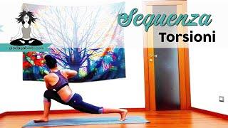 Vinyasa Yoga - Sequenza  - TORSIONI DETOX