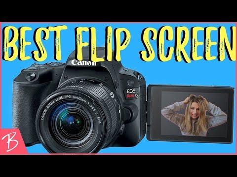 Best Budget Flip Screen Camera - Canon EOS Rebel Sl2