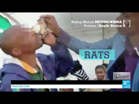 South Africa: a pastor under fire for making people eat rats, snakes, stripping them naked