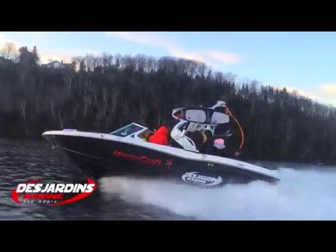 Winter Surf Experience With/Avec Desjardins Marine Ste Adele (2015) - Skyby Production INC