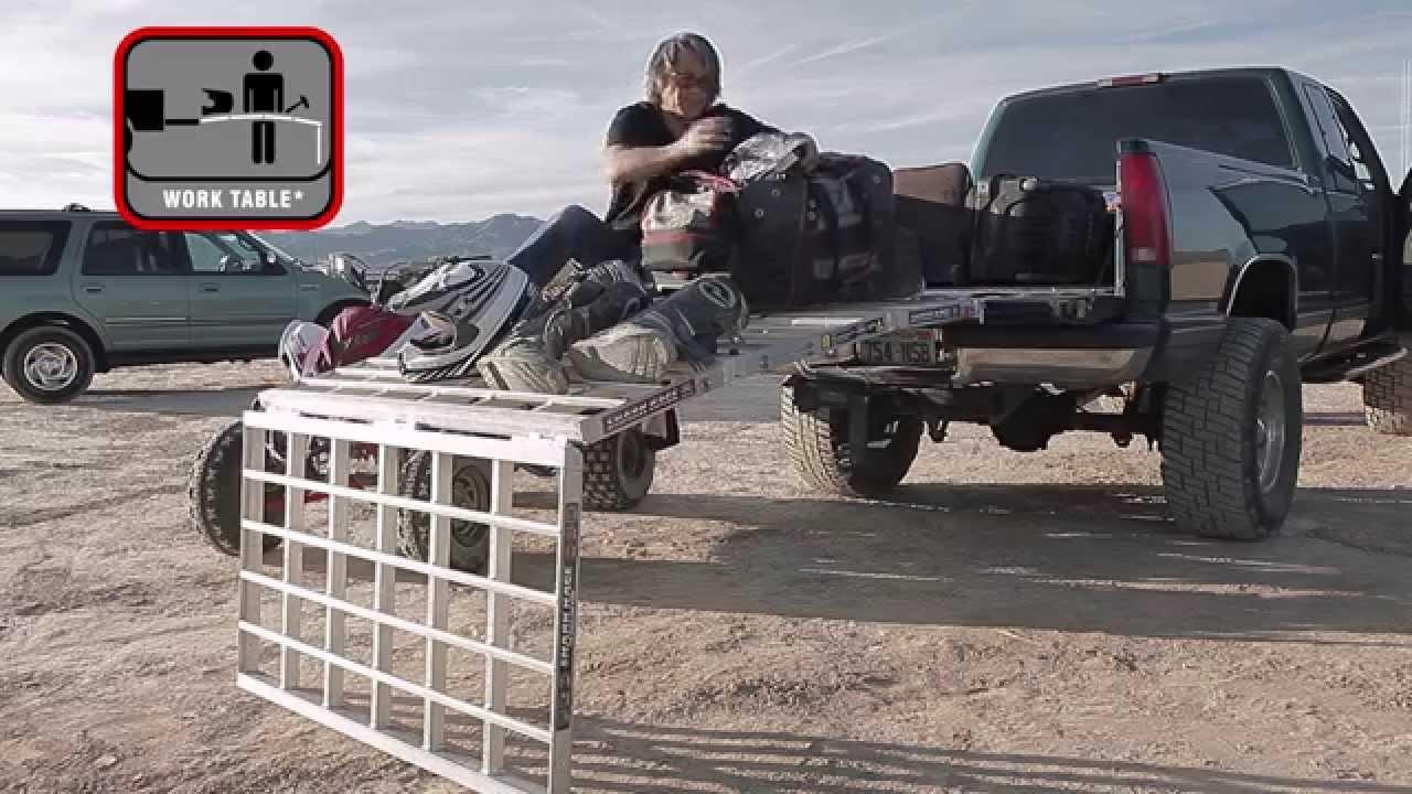 Atv Truck Ramps >> Shark Kage Aluminum Folding Ramps - Kickstarter Campaign Promo - YouTube