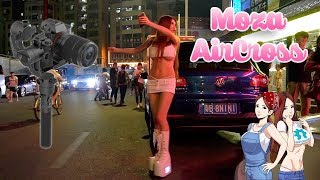Chinese Food Street Test of the Moza AirCross Gimbal