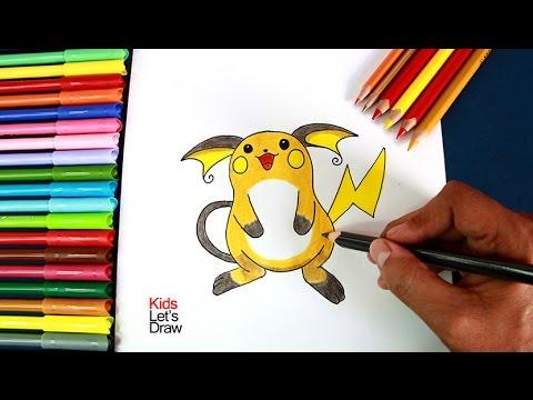 Cómo Dibujar A Raichu Pokémon Go How To Draw Raichu Pokemon Go