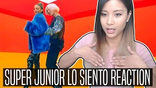 Download Lagu SUPER JUNIOR LO SIENTO (Feat. Leslie Grace) REACTION | Makes you want to dance Mp3