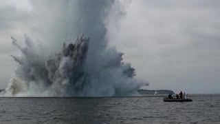 Учёные сняли свалку боеприпасов на дне Балтики