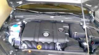 How to remove engine cover 2011 VW Jetta SE MKVI