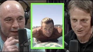 The Time Tony Hawk Went Surfing with Laird Hamilton | Joe Rogan