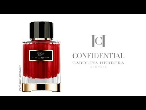 Carolina Herrera Confidential Sandal Ruby New Fragrance Youtube