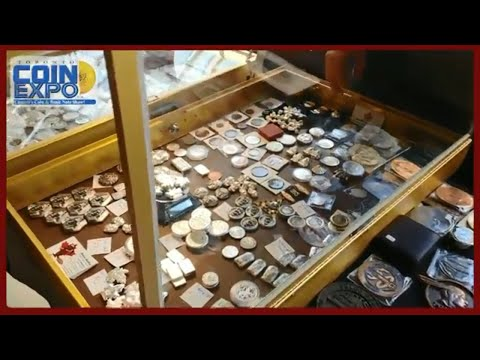 Toronto Coin Expo 2018. Lets take a tour around the show. So much silver, banknotes, gold & more!