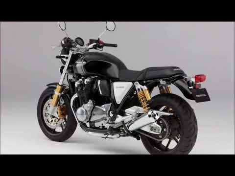 Honda CB1100 Model Usa 2018 - YouTube