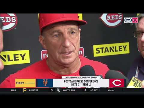 Jim Riggleman recaps series against Mets