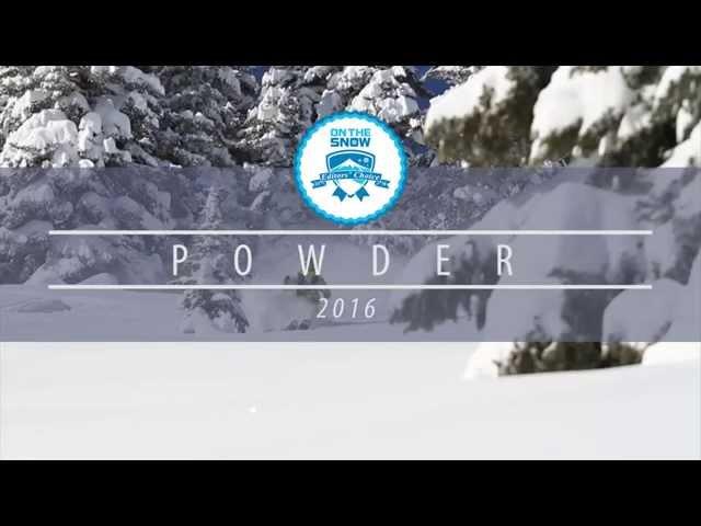 OnTheSnow Editors' Choice Skis: 2015/2016 Men's Powder
