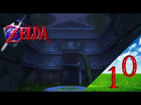 let's play zelda ocarina of time 3ds épisode 10 temple de la forêt