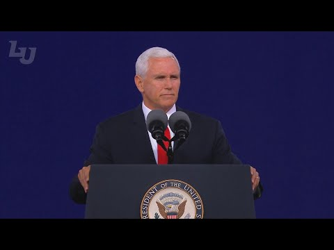 Vice President Mike Pence delivers 2019 commencement address at Liberty University