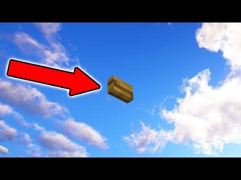 FLYING HIDDEN MINECRAFT BUTTONS!