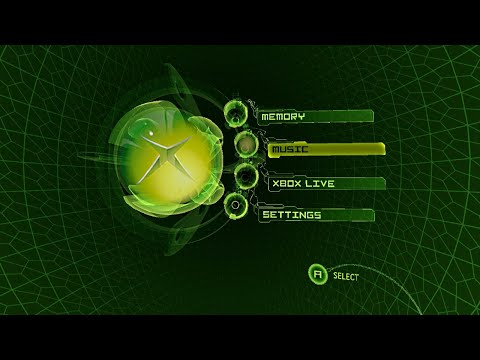 CXBX-Reloaded Emulator - Xbox Dashboard Test (with Sound)