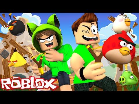Roblox: PRESOS NO ANGRY BIRDS !! - (Angry Birds Obby)