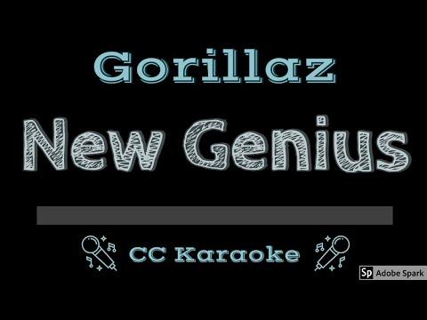 Gorillaz   New Genius CC Karaoke Instrumental