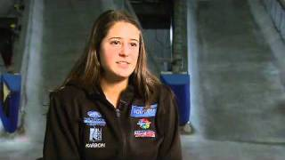 Luge athlete Emily Sweeney talks about the upcoming 2010-11 season