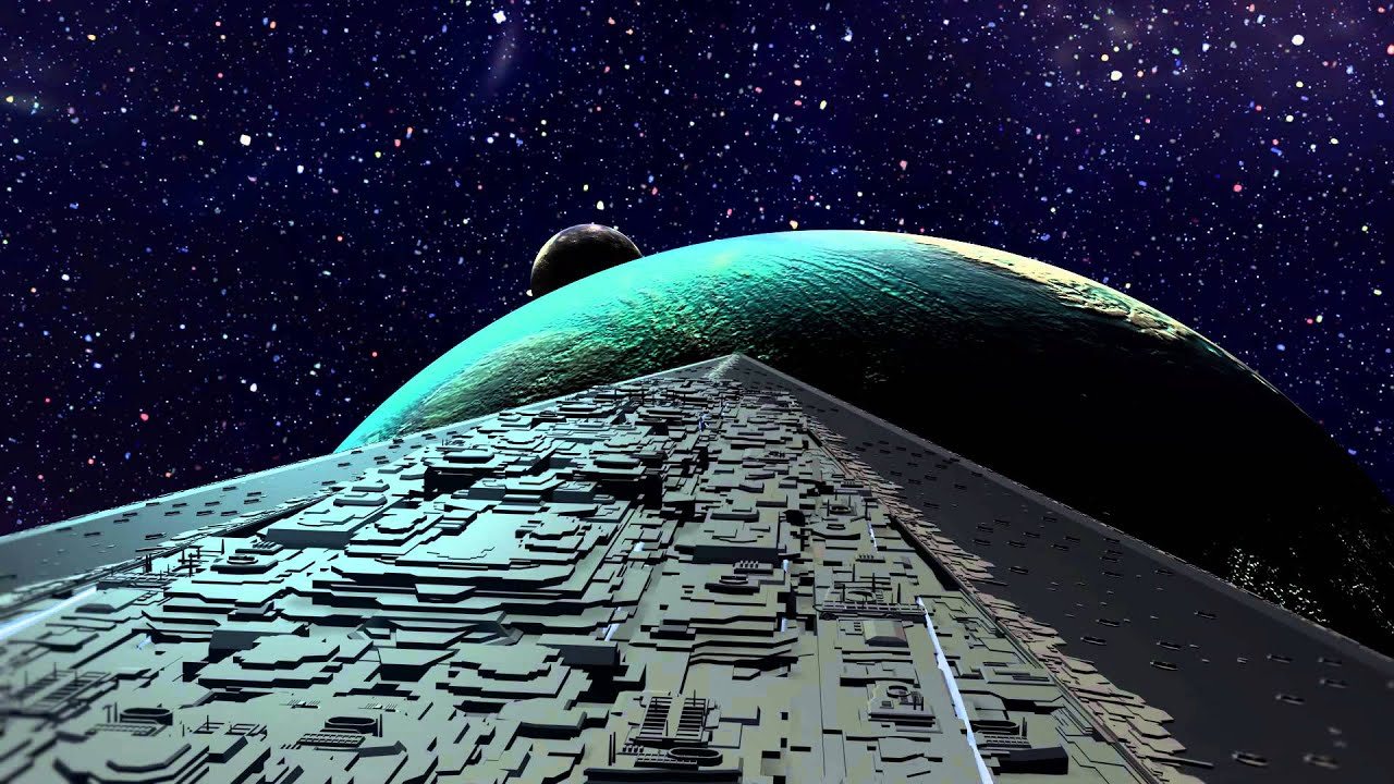 3ds Max Super Star Destroyer Executor Youtube