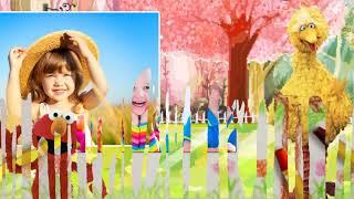 Слайд шоу  из детских фото
