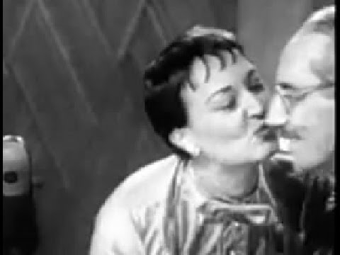 You Bet Your Life #54-20 Groucho sings German folk music (Secret word 'Clock', Jan 27, 1955)