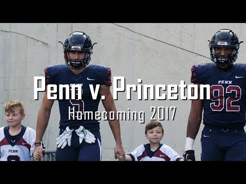 Penn Football vs. Princeton - Homecoming 2017