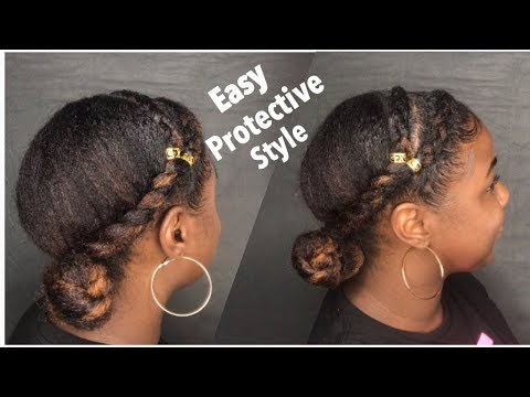 easy-protective-style-for-natural-hair-without-weave