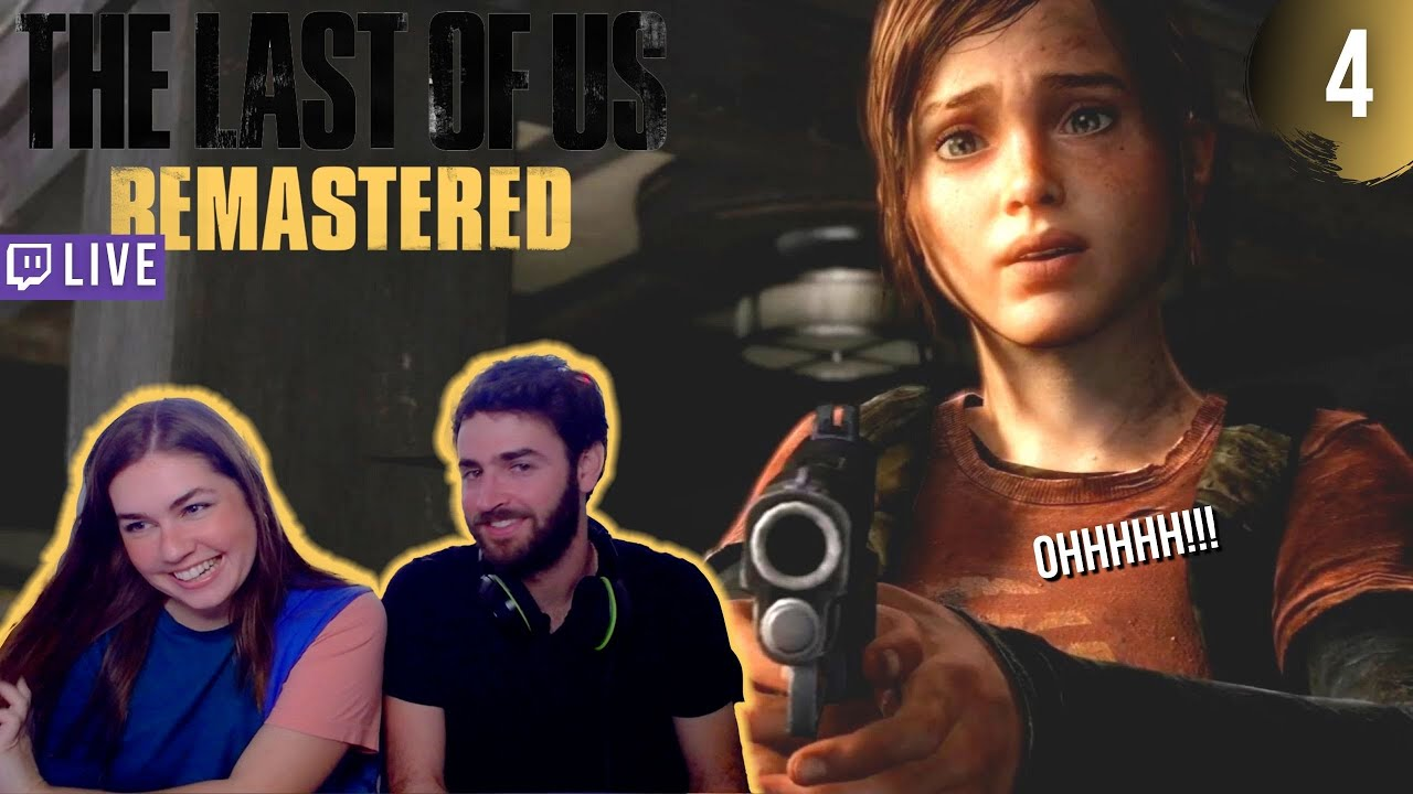Ellie's first kill ?  PART 4   THE LAST OF US: REMASTERED Blind Live Walkthrough