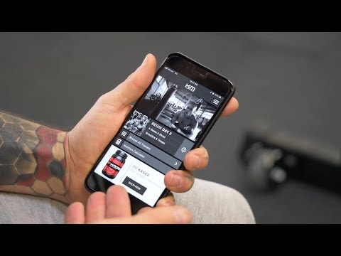 Introducing The Kaged Muscle Trainer App