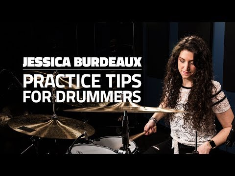 Jessica Burdeaux: Practice Tips To Become A Well-Rounded Drummer (FULL DRUM LESSON)