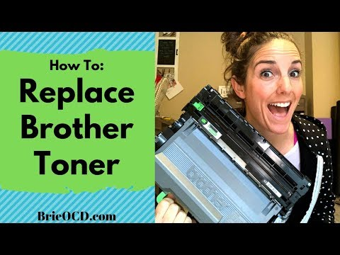 How To Replace Brother Toner Cartridge - Brother HL-L5200DW Laser Printer