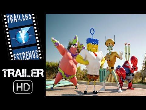 Bob Esponja: Un  héroe fuera del agua - Trailer en español (HD)
